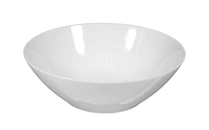 Schüssel Rondo Liane in weiß, 20 cm