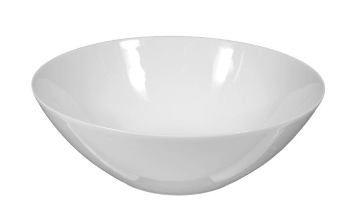 Schüssel Rondo Liane in weiß, 25 cm