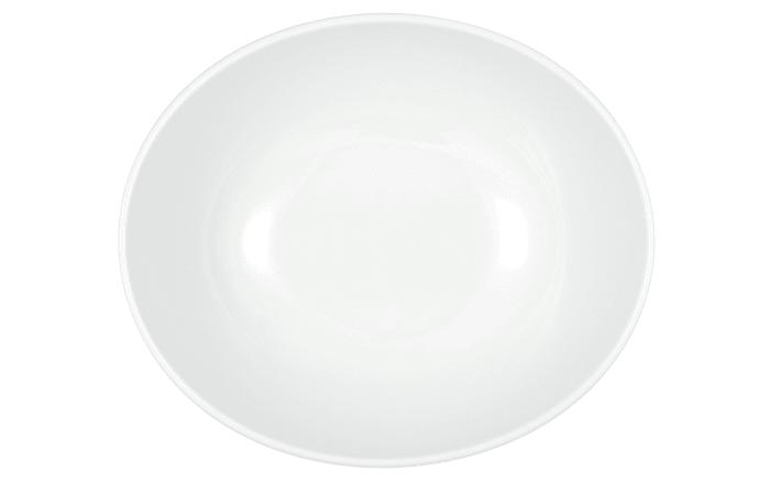 Schüssel Modern Life in weiß/oval, 25,5 cm