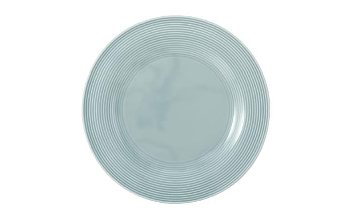 Speiseteller rund Beat in arktisblau, 27,5 cm