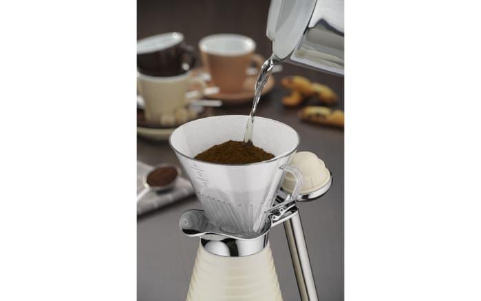 Kaffeefilter in aus Kunststoff in transparent