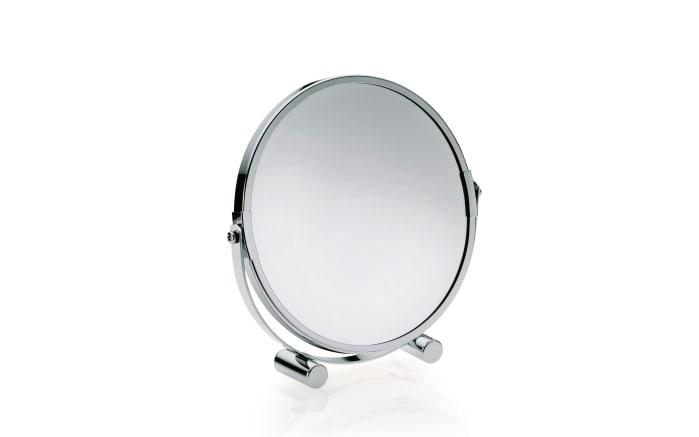 Tischspiegel Gina in chrom, 17,5 cm