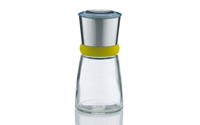 Salz-/Pfeffermühle Molino in edelstahl grün/grau
