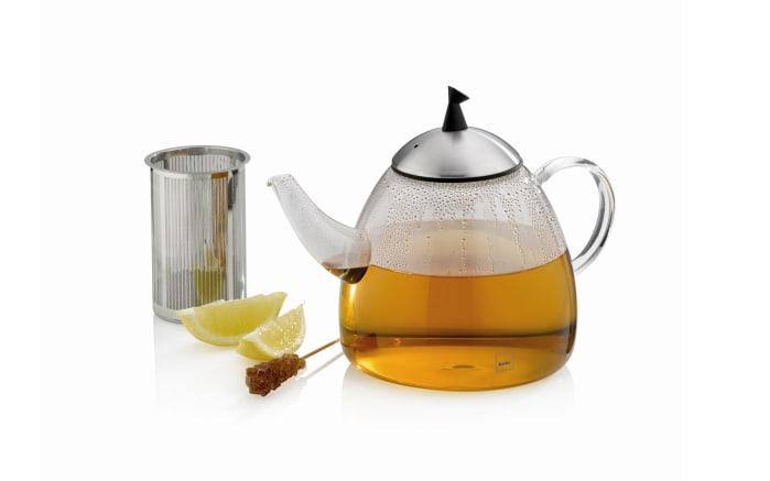 Teekanne Aurora aus Glas, 1,3 l