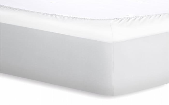Spannbetttuch Jersey in weiß, 120 x 200 cm