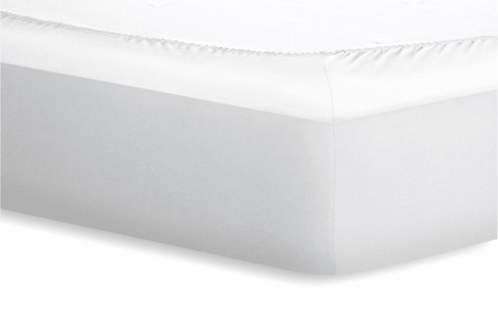 Spannbetttuch Jersey in weiß, 140 x 200 cm
