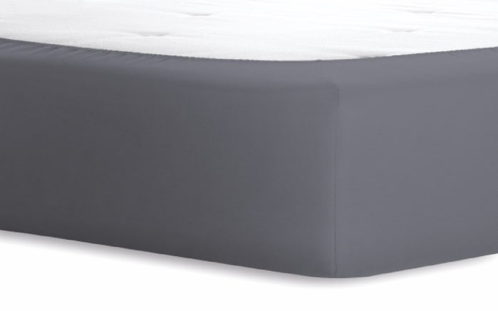 Boxspringspannbetttuch Jersey-Elasthan in graphit, 120 x 200 x 40 cm-02