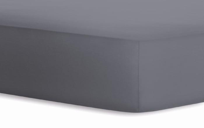 Boxspringspannbetttuch Jersey-Elasthan in graphit, 120 x 200 x 40 cm-01