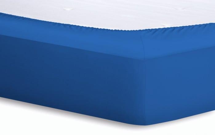 Spannbetttuch Basic in amethyst, 140 x 200 x 25 cm