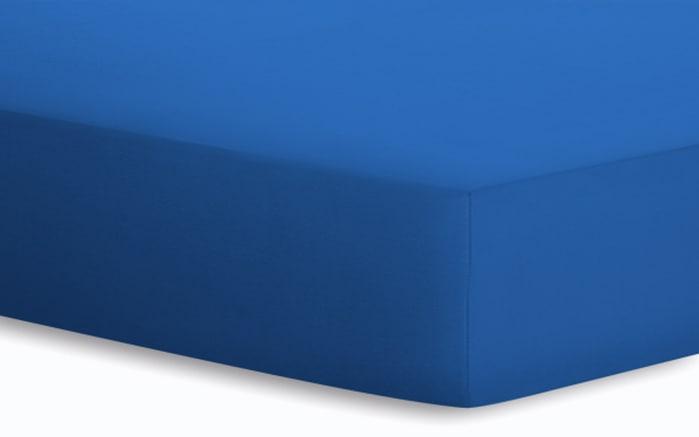 Spannbetttuch Basic in amethyst, 140 x 200 x 25 cm-01
