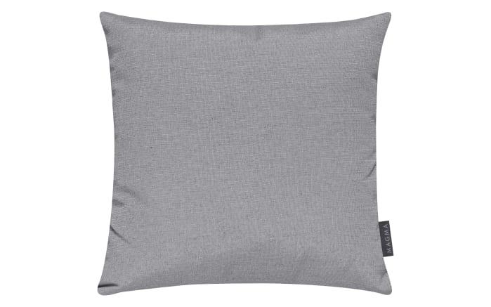 Kissenhülle Fino in grau, 40 x 40 cm-01