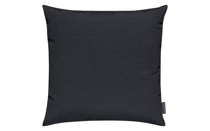 Kissenhülle Fino in schwarz, 50 x 50 cm