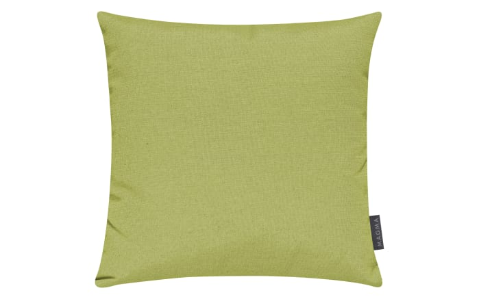 Kissenhülle Fino in grün, 50 x 50 cm