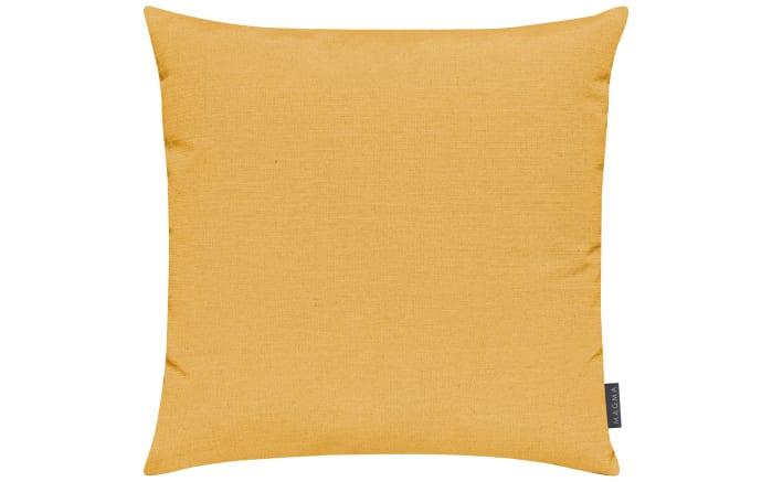Kissenhülle Fino in gelb, 50 x 50 cm-01