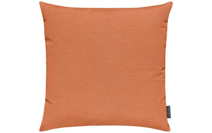 Kissenhülle Fino in orange, 50 x 50 cm