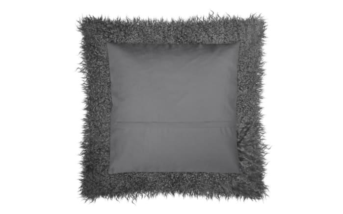 Kissenhülle Pamina in anthrazit, 40 x 40 cm-03