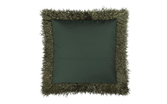 Kissenhülle Pamina in grün, 40 x 40 cm-03