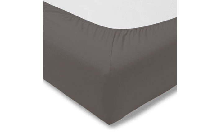 Spannbettlaken Fein Jersey in graphit, 150 x 200 cm