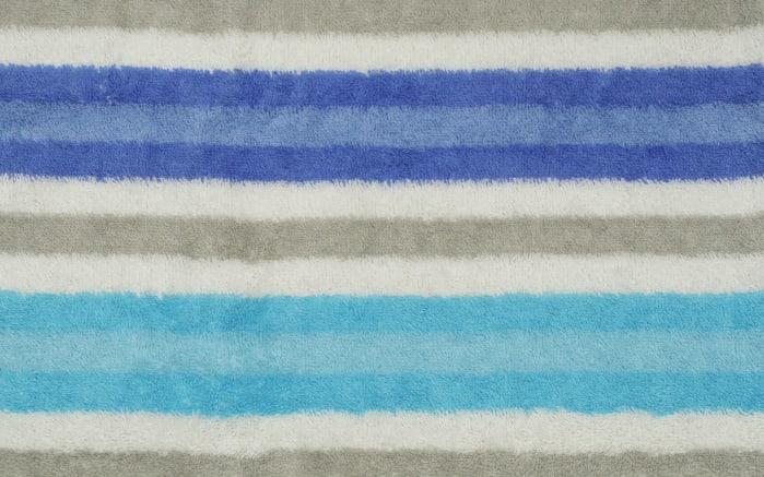 Handtuch Streifen in blau, 50 x 100 cm-04