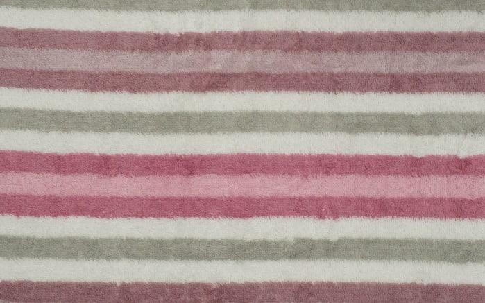 Handtuch Streifen in rose, 50 x 100 cm-03