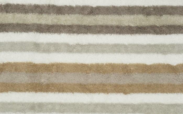 Handtuch Streifen in beige, 50 x 100 cm-04