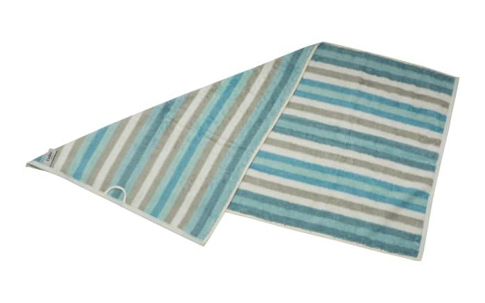 Handtuch Streifen in mint, 50 x 100 cm-03