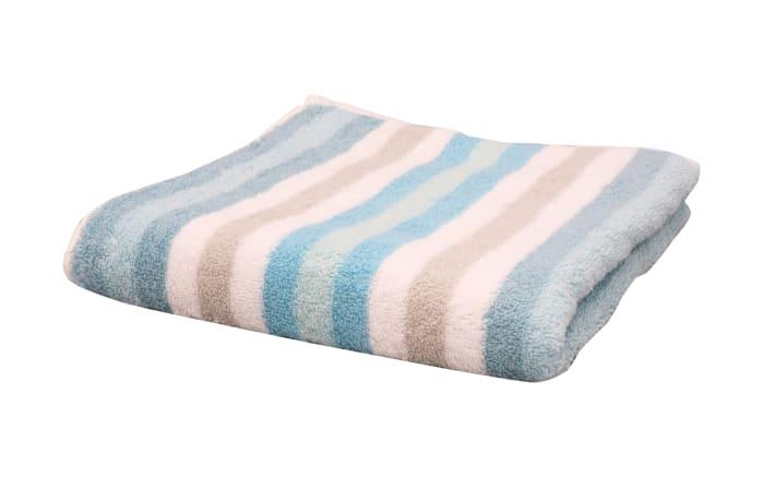 Handtuch Streifen in mint, 50 x 100 cm-01