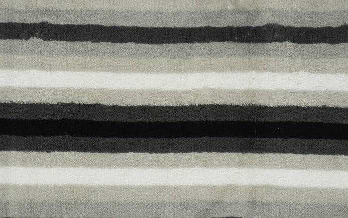 Handtuch Streifen in schwarz/weiss/grau, 50 x 100 cm-04
