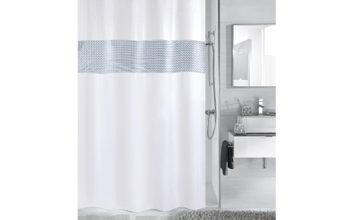 Duschvorhang Anchor in dunkelblau, 180 x 200 cm