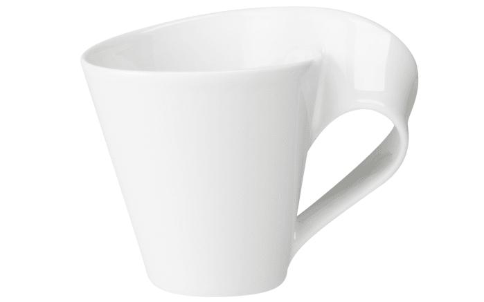 Becher mit Henkel New Wave Cafe in weiß, 0,25 l-01