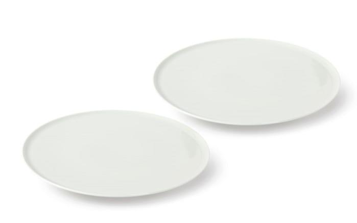 Pizzatellerset New Fresh in weiß, 2-teilig