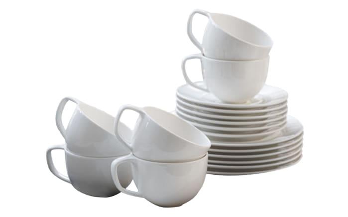 Kaffeeservice Neo white 18-teilig