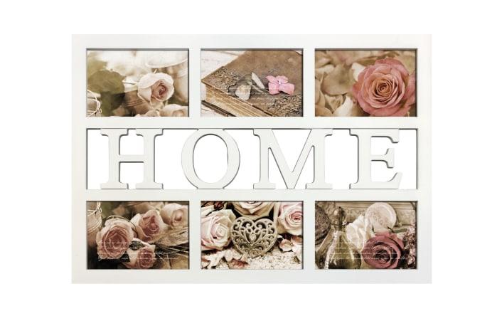 Collagerahmen mit Motiv: Home, 10 x 15 cm
