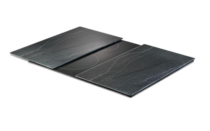 Herdabdeck-/Schneideplatten in Schieferoptik 2er-Set, 30 x 52 cm
