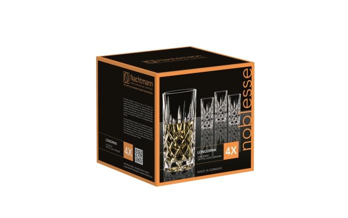 Longdrinkglas-Set Noblesse 380 ml, 4-teilig