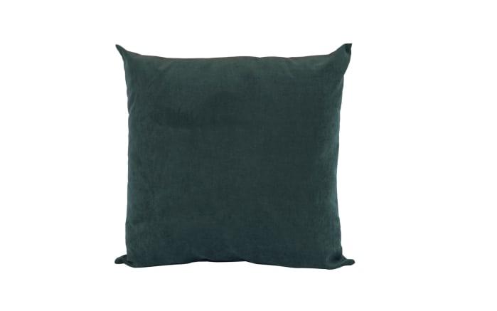 Bodenkissen Clara in dunkelgrün, 60 x 60 cm