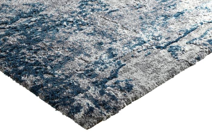 teppich juwel liray in grau petrol 65 x 130 cm online bei hardeck kaufen. Black Bedroom Furniture Sets. Home Design Ideas