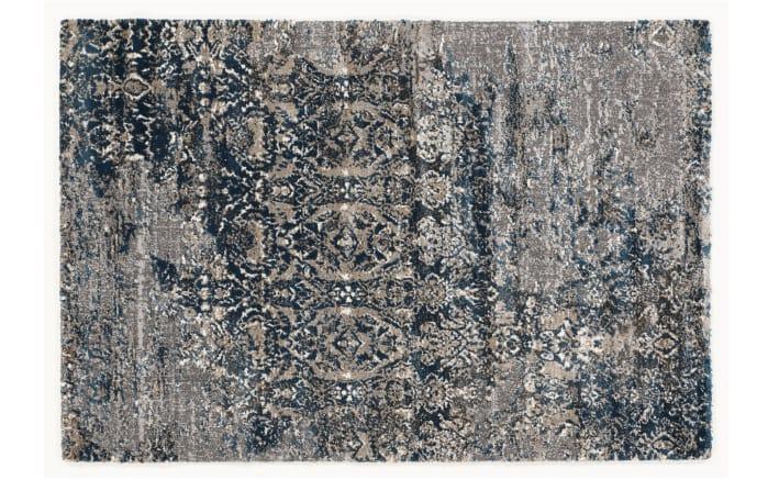 teppich juwel silenta in grau petrol 65 x 130 cm online bei hardeck kaufen. Black Bedroom Furniture Sets. Home Design Ideas