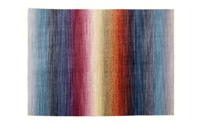 Teppich Rainbow Stripe in multicolor, 140 x 200 cm