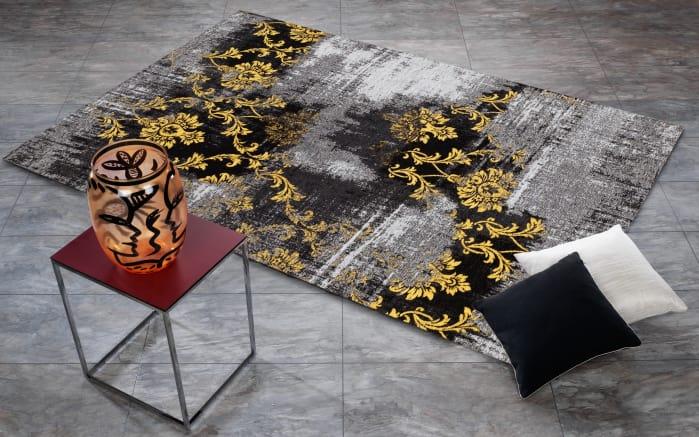 teppich inola trend in grau blau 70 x 140 cm online bei hardeck entdecken. Black Bedroom Furniture Sets. Home Design Ideas