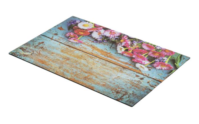 Türmatte Blumen, 40 x 60 cm