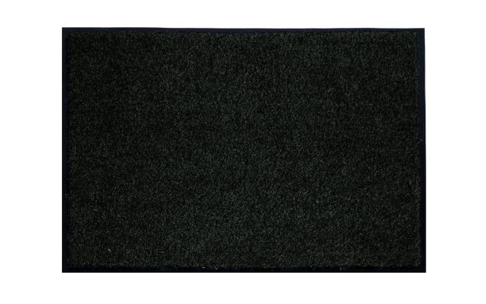 Türmatte in schwarz, 60 x 80 cm