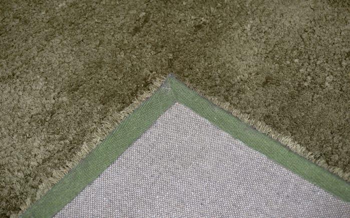 Teppich Livorno Deluxe in grün, 70 x 140 cm