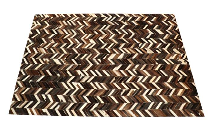 Teppich Patchwork in braun, 140 x 200 cm-04