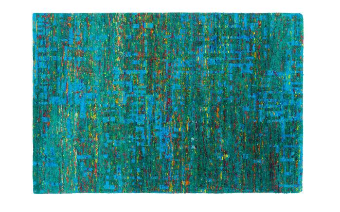 Teppich Queen in grün, 80 x 150 cm