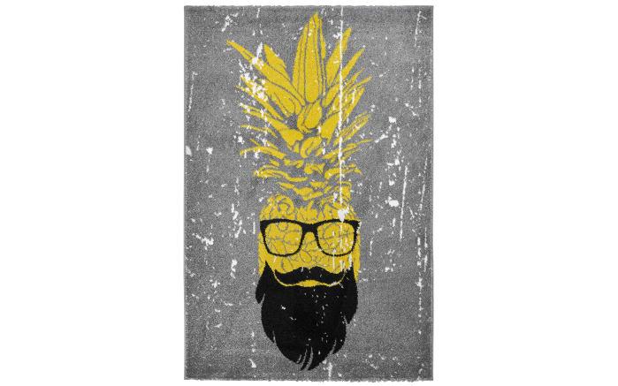 Designteppich my Hipster in silber, 120 x 170 cm