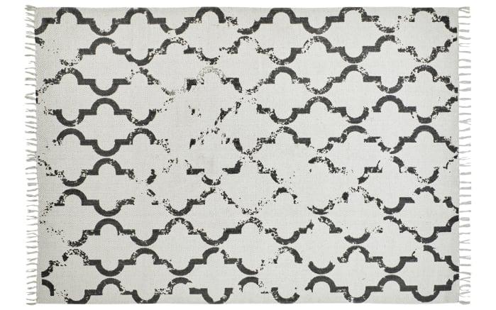 Teppich my Stockholm in anthrazit, 160 x 230 cm