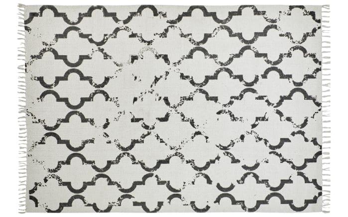 Teppich my Stockholm in anthrazit, 120 x 170 cm