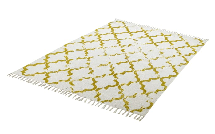 Teppich my Stockholm in mustard, 120 x 170 cm