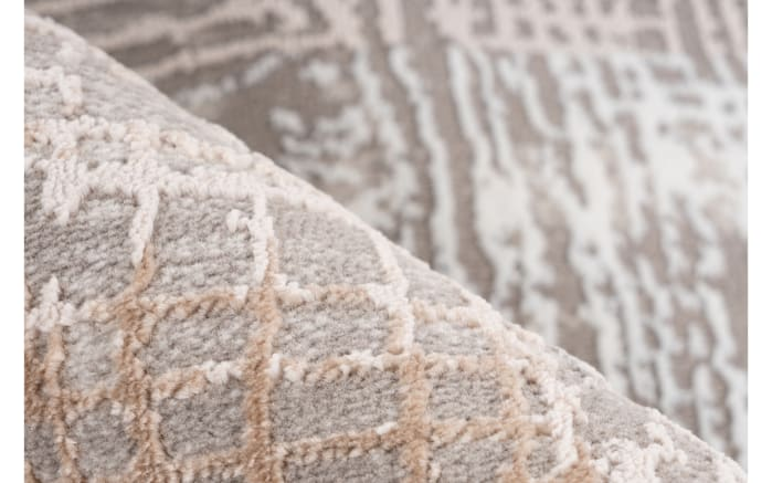 Teppich Akropolis 425 in grau-silber, ca. 80 x 150 cm-04